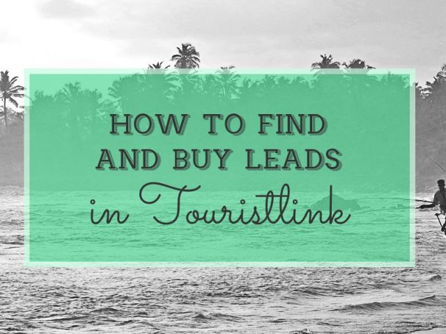 How to Find and Buy Leads on Touristlink